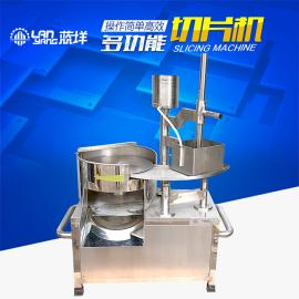 不锈钢羊肉切片机 半自动切片机 切肉片机器厂家直销
