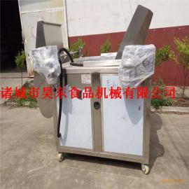 厂家直销豆饼油炸机 燃气式豆饼油炸加工设备