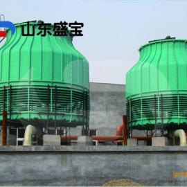 玻璃钢凉水塔/圆形冷却塔/方形横流冷却塔/山东盛宝厂家直销