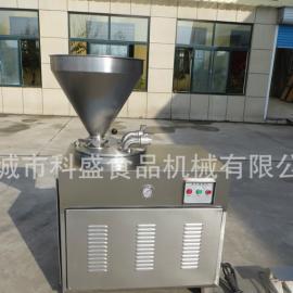 液压灌肠机 气动定量扭结灌肠机 绞肉机科盛食品机械