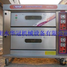 电烤箱@烘焙设备@双层四盘电烤箱