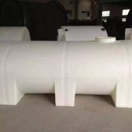 眉山5吨卧式储罐,5立方车载水箱,5000L卧式运输水箱