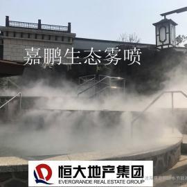 上海喷雾降温设备-户外喷雾降温价格-喷雾景观工程