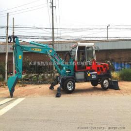 本溪小型挖掘机|轮式小挖掘机