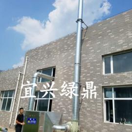 浙江温州光催化净化设备 有机废气低温等离子除臭设备价格 绿鼎环