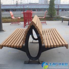 塑木户外长椅厂家