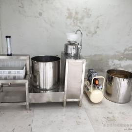 全自动豆腐机厂家花生豆腐的配方渣浆分离做豆腐的设备