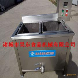 电加热油炸莲花豆油炸机 油炸莲花豆生产加工设备