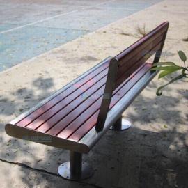珠海市校园实木长椅