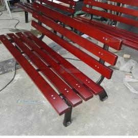 广州市防腐木做户外长椅批发
