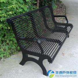 珠海市户外铁艺长椅