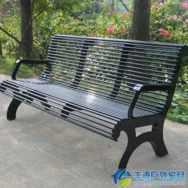 深圳市户外铁艺长椅