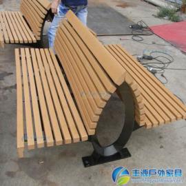 深圳市商业街户外长椅厂家