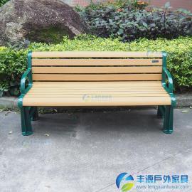 广东防腐木做户外长椅批发