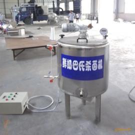 牛奶巴氏杀菌机设备厂家,永兴牌牛奶生产线【奶吧店设备】
