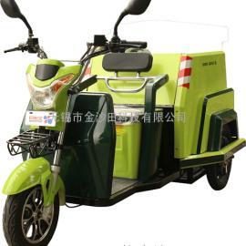 沙田牌ST3BJ0150ES电动保洁车 三轮保洁车 环卫