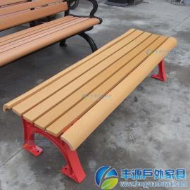 惠州市户外实木靠背长凳子
