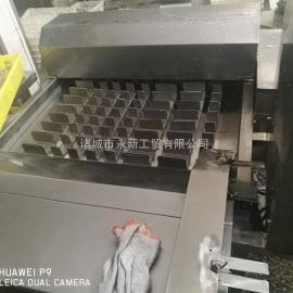 利特机械450鲜刀鱼切段机、冻刀鱼切段机、带鱼切段机