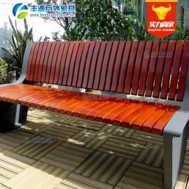 防腐实木长椅