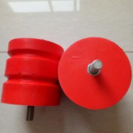 螺柱式聚氨酯缓冲器 100*100双梁小车碰头 国标非标