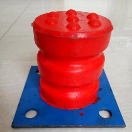 250*320法兰盘式聚氨酯缓冲器红色实心防撞垫碰头减震器