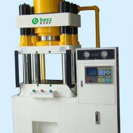厂家直销高精度伺服四柱液压机可非标定制柏浚精机行业中的精品