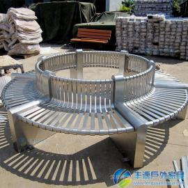 圆形树池座椅