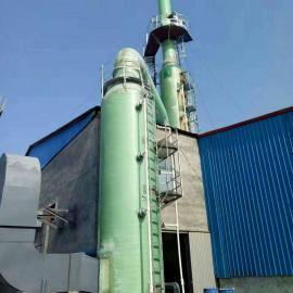 有机废气处理/工业废气处理、高效脱硫设备、脱硫塔现场照片