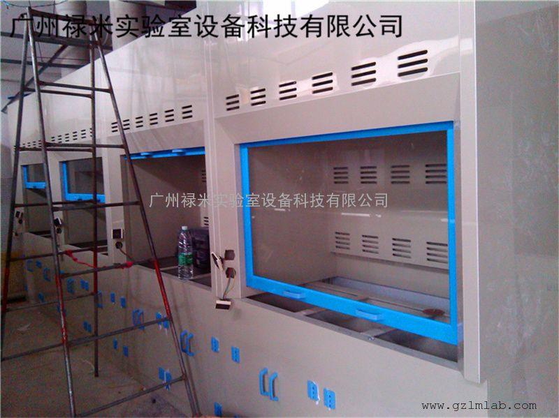 禄米实验室PP通风柜 PP通风橱排毒柜 排风柜耐腐蚀酸碱