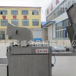 牛肉冻肉切块机 大型冷冻肉盘分割机 全自动不锈钢切块机价格