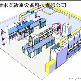 禄米科学院透风系统- 科学院排风商品系列 透风柜 标记原子罩