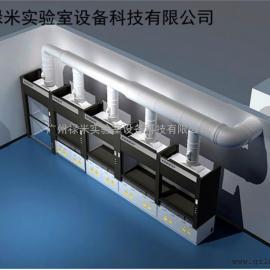 实验室通风散热工程 实验室换气排风系统 禄米科技