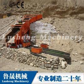 专用于路桥工程的洗石机、新型洗石机的价格,振动式洗石设备
