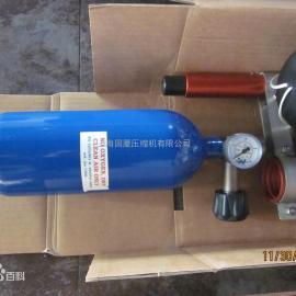 锚钩发射器气动抛射器抛绳器配套专用空压机充气泵充填泵