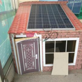 安装屋顶光伏发电设备,太阳能光伏发电组件