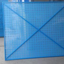 张家口建筑防护爬架网厂家@亚奇牌高空临边防护网热门供应