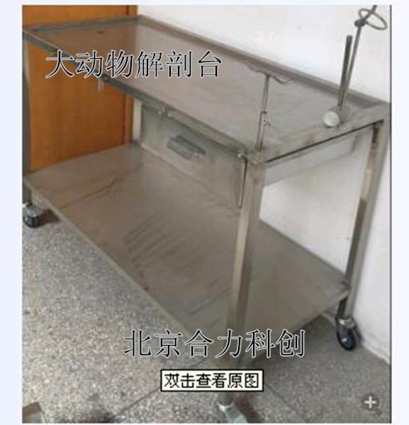 大动物解剖台 简单手术台 北京厂家直销