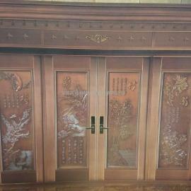 东莞市聚福豪门纯铜入户门生产安装 优质服务
