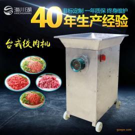 广东深圳厂家绞肉机台式绞肉机工厂用大型设备海川湖
