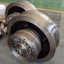 欧式起重机端梁哪里卖河南欧式驱动系统厂家φ200欧式车轮组