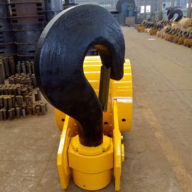 3.2t单钩吊钩组价格多少610滑轮吊钩起重机吊钩组生产厂家