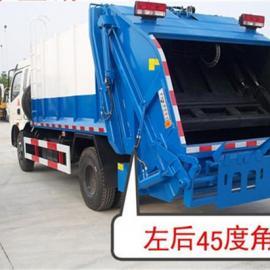 东风3吨压缩垃圾车厂家_卖3吨压缩垃圾车_后装压缩式垃圾车多少钱