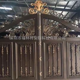 铝艺别墅门与铁艺别墅门相比较具有哪些优势