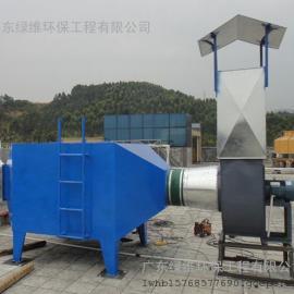 惠州环保公司废气处理设备之活性炭过滤箱废气吸附装置