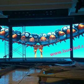 LED室内背景墙电子屏幕价格 大厅P3LED全彩屏品牌