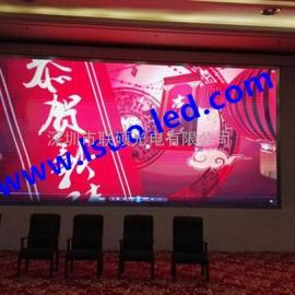 大厅背景墙P4全彩LED大屏幕报价 高清P4LED显示屏