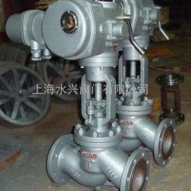 DN200口径J941H/Y/W电动法兰截止阀