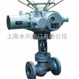 DN50口径J941H/Y/W电动法兰截止阀