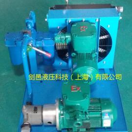 SEW减速机齿轮箱忧愁光滑油冷却系统散热系统