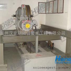 顶层电梯机房噪声治理